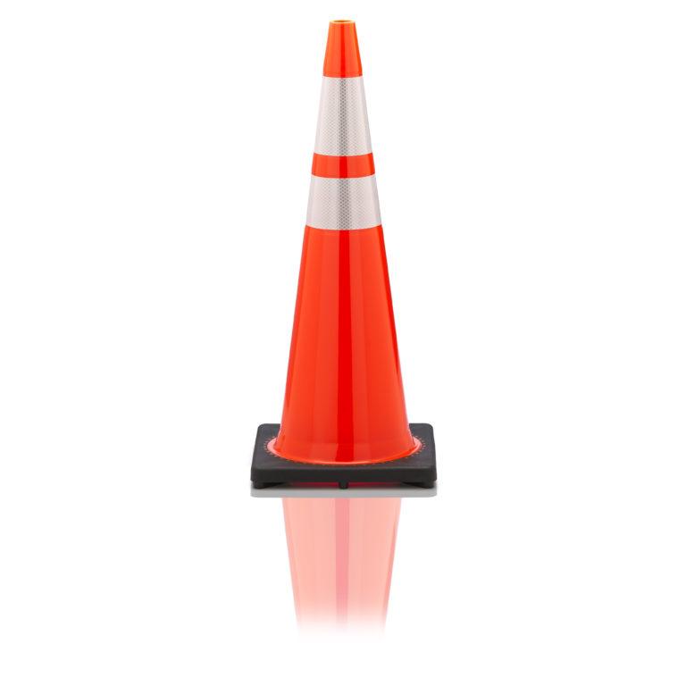 airport traffic cone