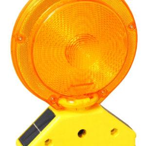 Solar Barricade Light- Amber LED