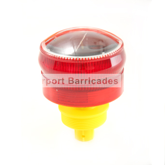 airport barricade solar light